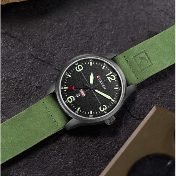 curren-pilot-ferfi-ora-zold-08265z